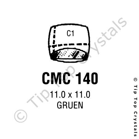 GS CMC140 Watch Crystal