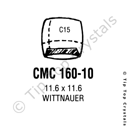 GS CMC160-10 Watch Crystal