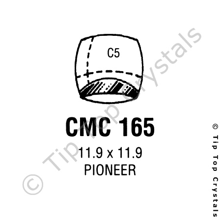 GS CMC165 Watch Crystal