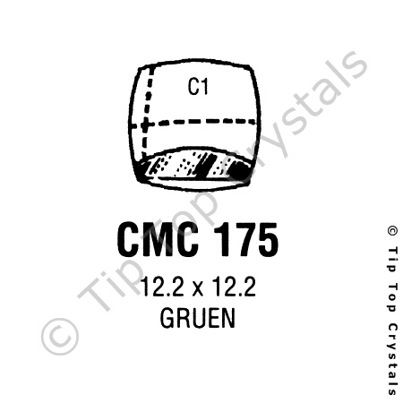 GS CMC175 Watch Crystal