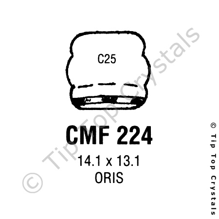 GS CMF224 Watch Crystal