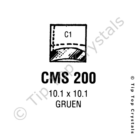 GS CMS200 Watch Crystal