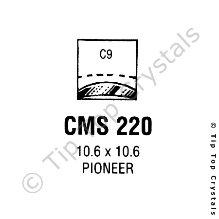 GS CMS220 Watch Crystal