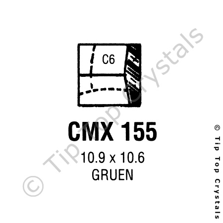 GS CMX155 Watch Crystal