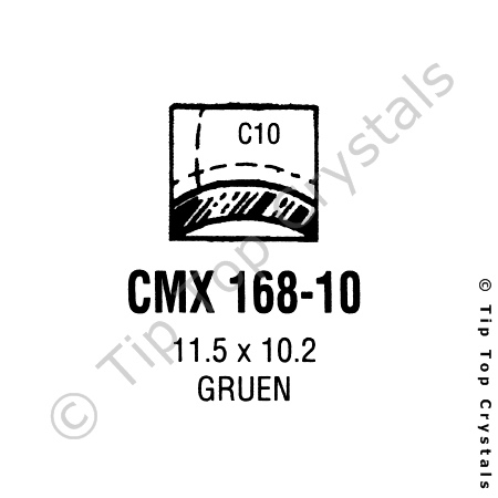 GS CMX168-10 Watch Crystal