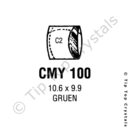 GS CMY100 Watch Crystal