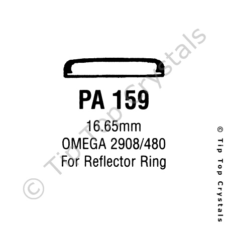 GS PA159 Watch Crystal
